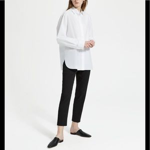 NEW Theory   Pull-on Pant Linen/Viscose Stetch